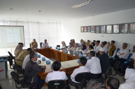 Kunjungan dari Badan Pemeriksa Keuangan Pusat